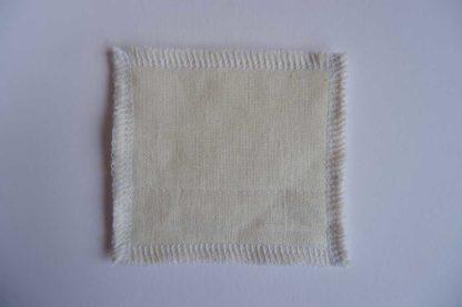 carré démaquillant lavable 8 × 8 cm